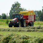 Zestaw do zbioru traw
