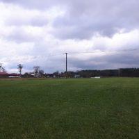 Użytek pod koniec sezonu wegetacyjnego (widoczne zabudowania gospodarstwa)